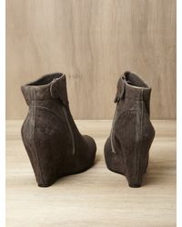 Rick Owens - Brown Wedge Boots - Lyst