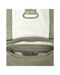 Botkier | Green Sage Snake Leather Charlotte Crossbody Bag | Lyst