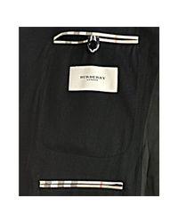 Burberry   Black London Wool Blend Twill 2 Button Travel Blazer for Men   Lyst