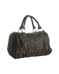 Deux Lux - Black Quilted Heart Love Drops Duffel Bag - Lyst