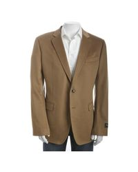 Dolce & Gabbana - Natural Camel Cashmere Double Button Blazer for Men - Lyst