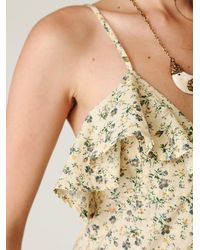 Free People | Multicolor Pretty in Peonies Dress | Lyst