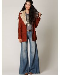 Free People | Blue Fp Vintage Extreme Flare | Lyst