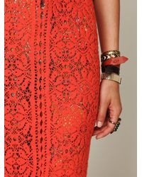 Free People | Orange Birkin Maxi Dress | Lyst