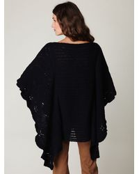 Free People - Blue Snow Nymph Cape - Lyst