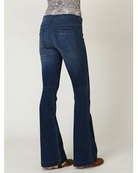 Free People - Blue Fp Pull On Flares - Lyst