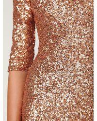Free People - Metallic Sequin Sway Dress - Lyst