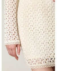 Free People | White Gypsy Lace Dress | Lyst
