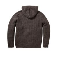 French Connection | Gray Cat and Mouse Knit Cardigan for Men | Lyst