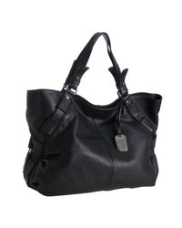 Furla | Black Leather Gam Tote Bag | Lyst
