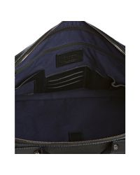 Furla | Black Onyx Leather London Messenger Briefcase for Men | Lyst