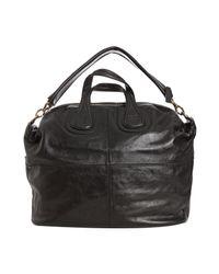 Givenchy - Black Lambskin Studded Nightingale Large Tote - Lyst