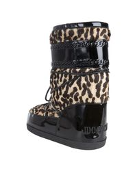 Jimmy Choo - Multicolor Leopard Calf Hair and Leather Grove Moon Boots - Lyst