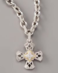Judith Ripka | Metallic Maltese Cross Enhancer | Lyst