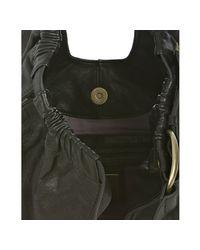 Kooba | Black Leather Lana Buckle Detail Shoulder Bag | Lyst