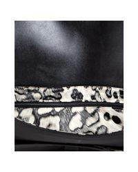 Longchamp   Black Leather Gatsby Shoulder Bag   Lyst