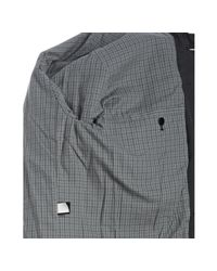 Marc By Marc Jacobs - Gray Charcoal Cotton Twill Maverick Faux Fur Trim Jacket for Men - Lyst