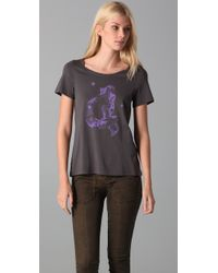 Marc By Marc Jacobs | Gray Whats Your Sign Tee  | Lyst