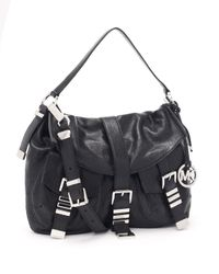 Michael Kors | Large Darrington Messenger, Black | Lyst