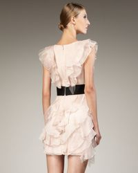 Notte by Marchesa | Pink Marchesa Notte Dress | Lyst