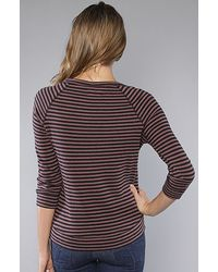 Obey - Black Albany Pullover Striped Sweater - Lyst