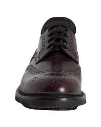 Prada - Brown Laceup Shoes for Men - Lyst