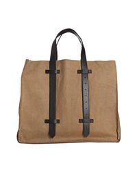 Proenza Schouler - Brown Paperbag Leather Ps1 Large Shopping Tote - Lyst