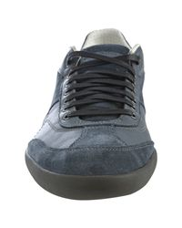 PUMA - Gray Leather Standpunkt Classic Lace-up Sneakers for Men - Lyst