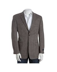Tommy Hilfiger | Brown Tweed Wool Two-button Lloyd Blazer for Men | Lyst