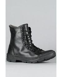 aa658c71e49a79 Lyst - Converse The Chuck Taylor All Star Outsider Boot in Black ...