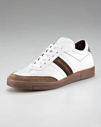 Ferragamo | White Ciak Sneaker for Men | Lyst
