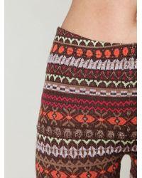 Free People | Multicolor Poconos Sweater Legging | Lyst