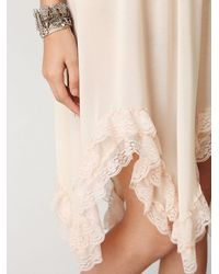 Free People - Pink Special Occasion Tube Dress - Lyst