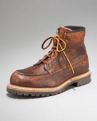 Frye | Brown Dakota Stone-wash Boot for Men | Lyst