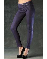 Hudson Jeans | Purple Nico Mid Rise Super Skinny | Lyst