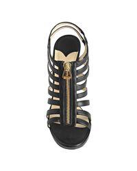 Jimmy Choo | Black Glenys Cage Platform Sandals | Lyst