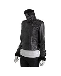 Marc New York - Black Faux Suede and Sherpa Aviator Jacket - Lyst