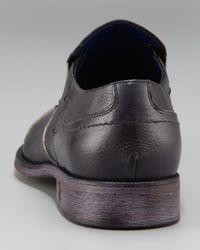Mark Nason   Black Sentido Cap-toe Loafer for Men   Lyst