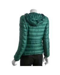 Moncler - Green Quilted Mayotte Down Filled Hooded Jacket - Lyst