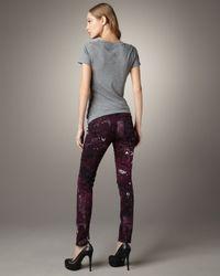 Rag & Bone   Multicolor Galaxy-print Leggings   Lyst