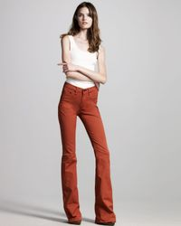 Rag & Bone | Burnt Orange Flare Jeans | Lyst
