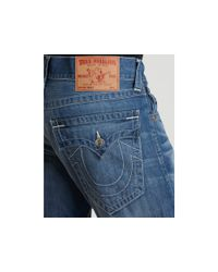 True Religion - Blue Billy Bootcut Ham Industrial Jeans for Men - Lyst