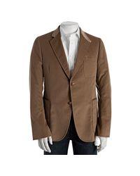 Gucci | Natural Beige Corduroy 2-button Blazer for Men | Lyst