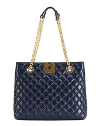 Jaeger | Blue Quilted Tote Bag | Lyst