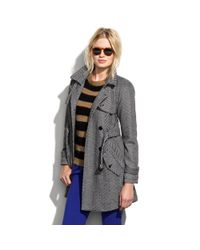 Madewell - Gray Parkwalk Coat - Lyst