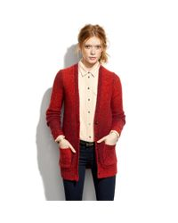 Madewell | Red Rowboat Cardigan | Lyst