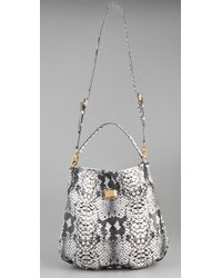 Marc By Marc Jacobs - Multicolor Supersonic Snake Print Hillier Hobo - Lyst