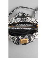 Marc By Marc Jacobs | Multicolor Supersonic Snake Print Sia Bag | Lyst