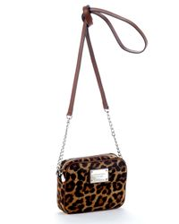 Michael Kors | Multicolor Jet Set Crossbody, Leopard Calf Hair | Lyst