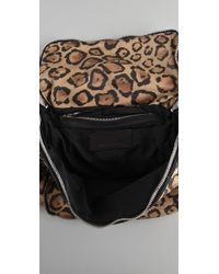 Alexander Wang | Multicolor Jane Leopard-print Leather Shoulder Bag | Lyst